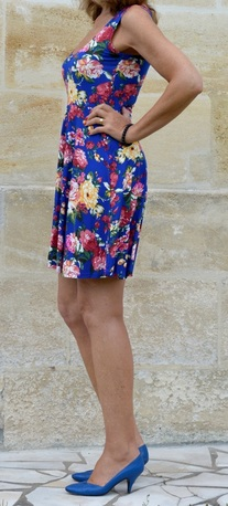 Meaneor Floral Print Minidress