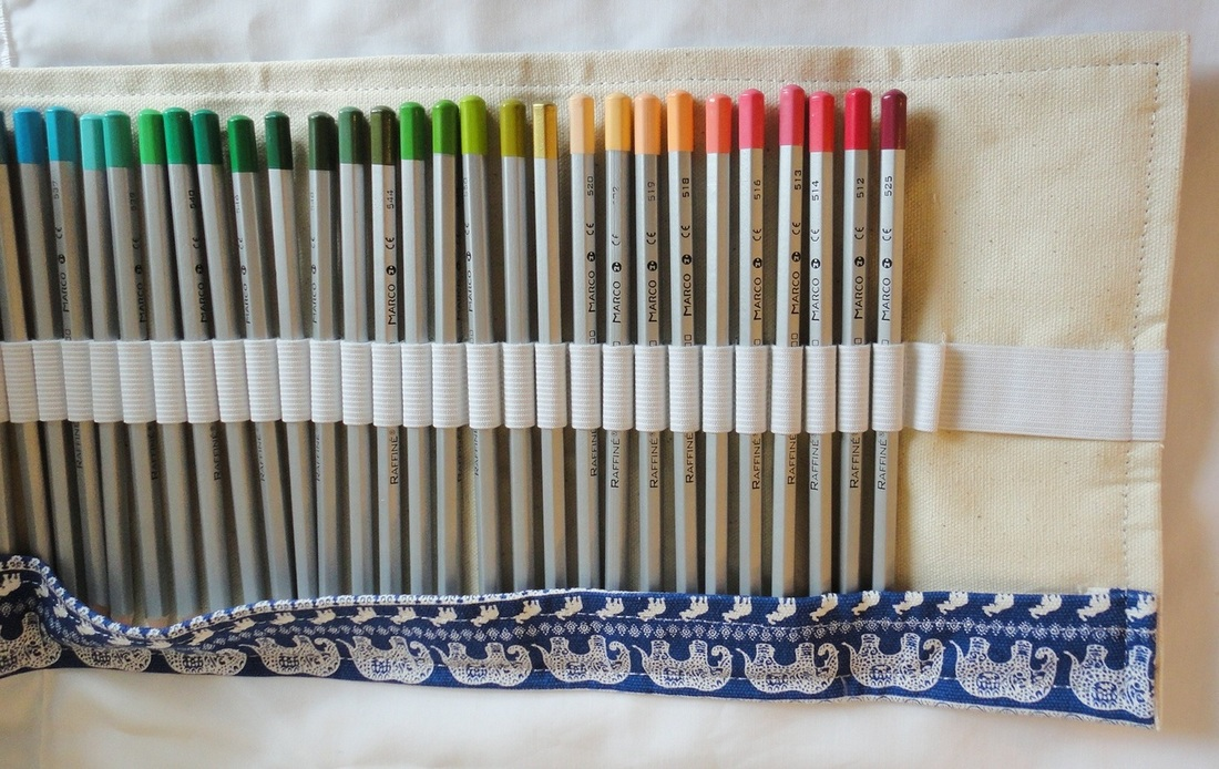 Taotree 72 pencil canvas holder