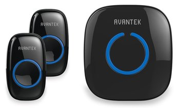 Avantek Wireless Doorbell Kit Two Push Buttons