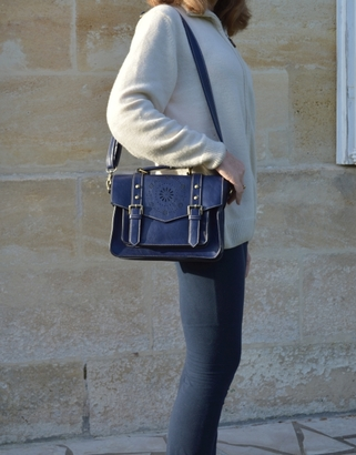 Ecosusi Blue Shoulder Bag