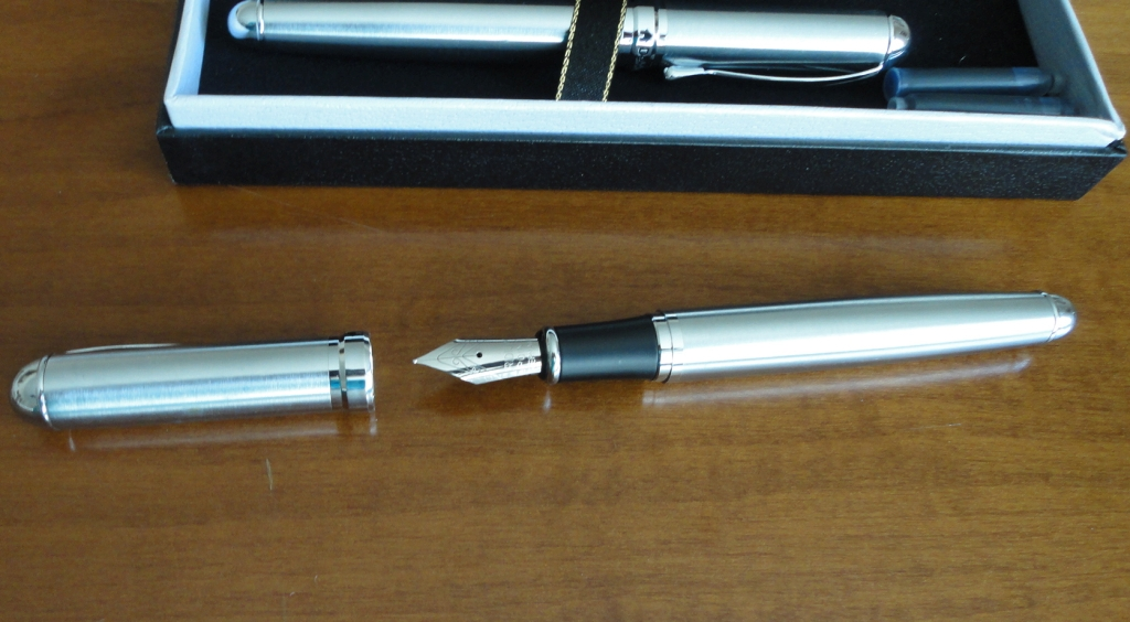 Dekkorano Stainless Steel Writing Set