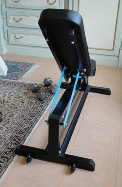 Capital Sports Adjustable Weight Bench