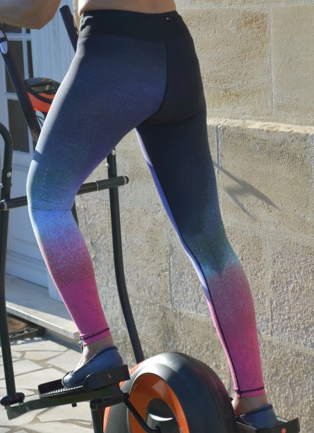 Jimmy Design Sports Leggings Pro-Black/Purple