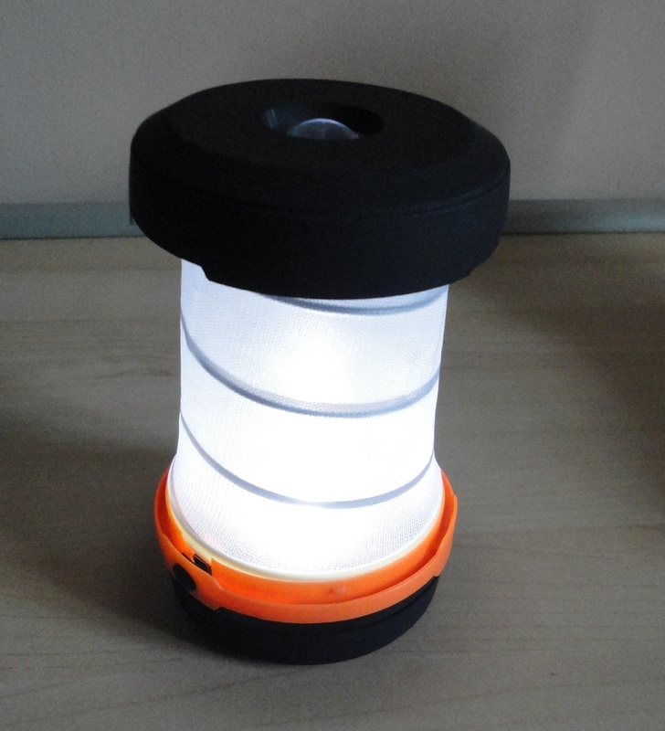 TaoTronics Collapsible Camping Lamp