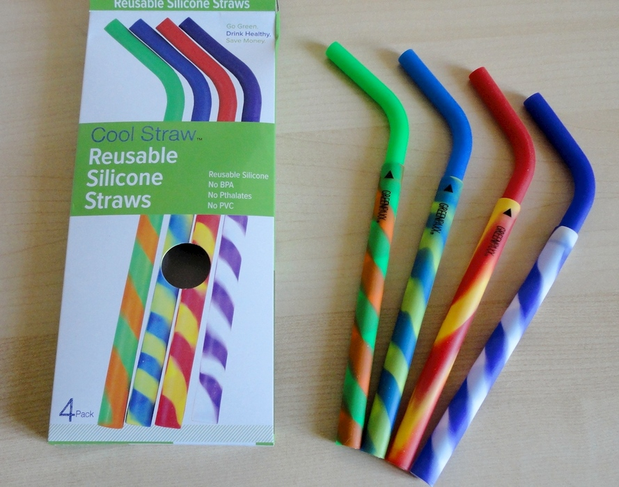GreenPaxx Cool Straw reusable silicone straws