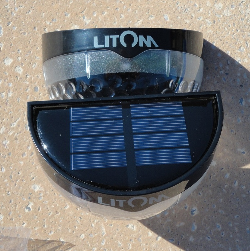 Litom Solar Security Lamps